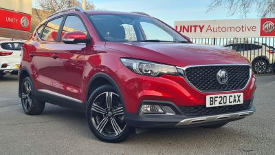 MG Motor UK ZS 1.5 VTi-TECH Exclusive 5dr Hatchback Petrol RED at Unity Coventry Coventry