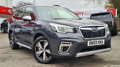 Subaru Forester 2.0i e-Boxer XE Premium 5dr Lineartronic Estate Petrol/Electric Hybrid GREY at Unity Coventry Coventry